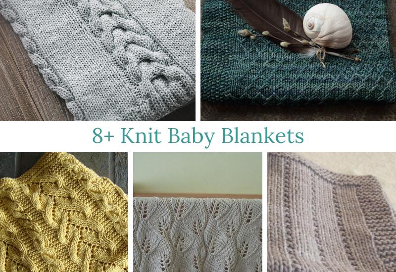 b556c23a0dd71 8+ Knit Baby Blankets